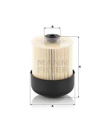 PU9009ZKIT Fuel Filter Mann...