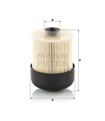 PU9009ZKIT Fuel Filter Mann...