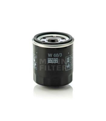 W68/3 Oil Filter Mann Filter