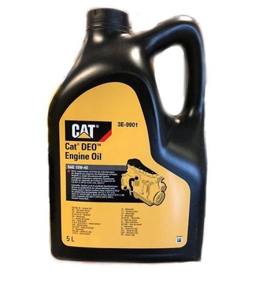 15w40 Diesel Oil >> Huile Moteur Diesel DEO Caterpillar 15W40 (20L/5L) 3E-9848 3E-9901 Volume 5 Litres / 1.3 Gallon