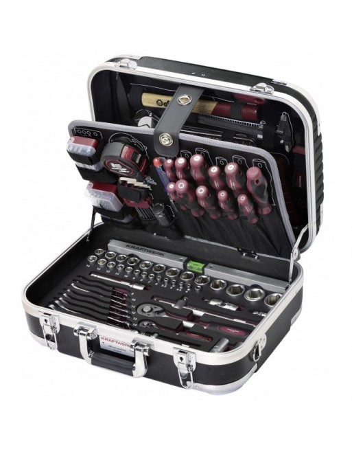 Tools Briefcase - 169 pieces - B100 KRAFTWERKKraftwerk Tools